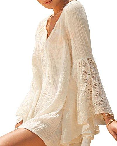 laozan-womens-bohemia-style-long-sleeve-sundress-beach-dress-beige-small