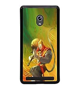 Fuson Designer Phone Back Case Cover Asus Zenfone 5 A501CG ( Lord Hanuman Bowed Down )