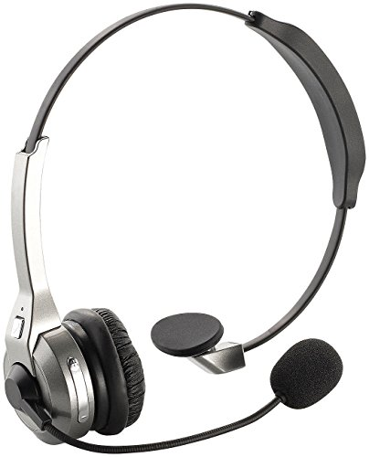 Callstel Telefon Headset: Profi-Mono-Headset mit Bluetooth, NFC & Noise-Cancelling (Kopfhörer und Headsets, Bluetooth)