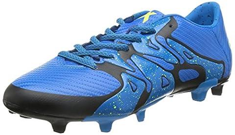 Adidas X 15.3 FG/AG Fussballschuhe Outdoor Schuhe Fußball B32772 Solarblue, Schuhgröße:42 2/3