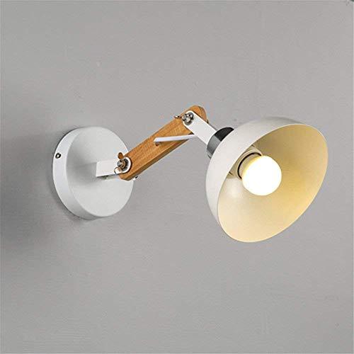 WLM Wand-skandinavischer Retro- Bedroomstaircase-Balkon-Eisen-einzelner Kopf-Schwarz-Rock-Regenschirm / 25X20Cmfashion-Leuchte -