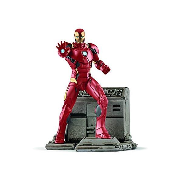 Schleich Marvel - Figura Iron Man, 18,5 cm 2