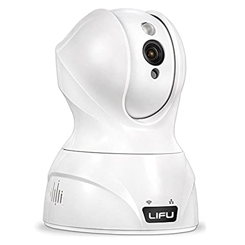 Wireless IP Camera, LiFu 1280 x 720P Home Security Surveillance