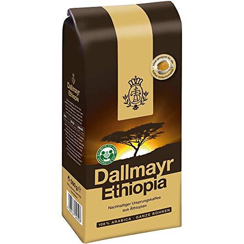 Dallmayr Ethiopia, Bohnenkaffee, Kaffee, Röstkaffee, Kaffeebohnen, 100% Arabica, 500 g