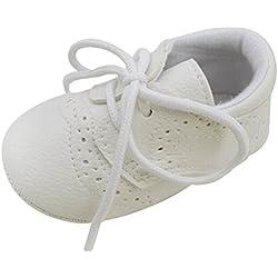 Xiangze Nino bebe ninos ninas PU cuero suave cuna de zapatos