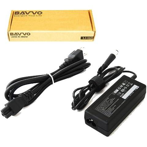HP Compaq Presario CQ20-200 Series,7.4mm*5.0mm Cargador Adaptador - cable de alimentación europeo incluido - Bavvo® 65W Alimentación Adaptador para Ordenador PC