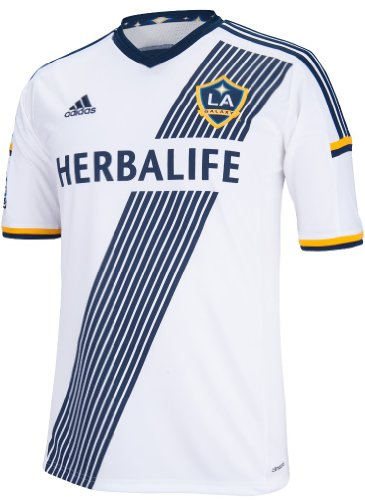 adidas Los Angeles Galaxy MLS Performance Replica Jersey Trikot - White Galaxy Jersey