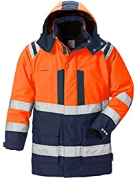 3920781f Fristads Kansas Workwear 119628 High Viz Airtech Winter Parka