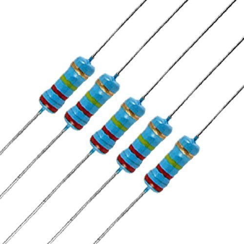 Sourcingmap - Resistore a Film di Carbone; Tipo: Assiale; Potenza Nominale: 1/2W