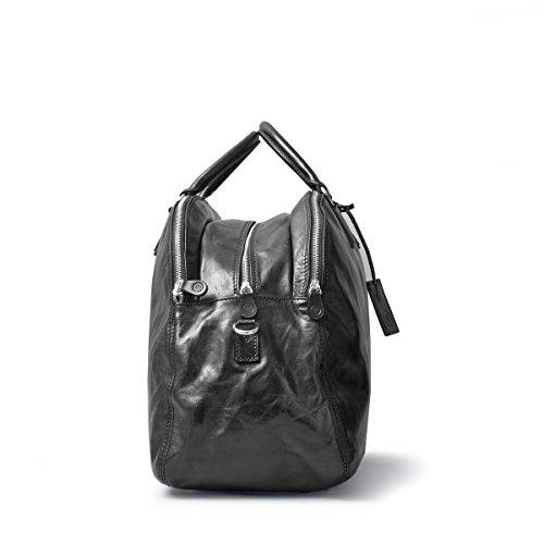 Maxwell Scott®–Borsa Donna In Pelle Italiana (la lilianal), Night Black (nero) - LilianaL_908 Night Black