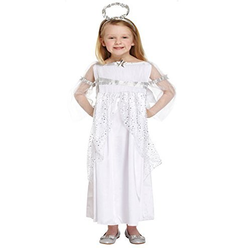 XMAS FANCY DRESS COSTUME - CHILDRENS CHRISTMAS OUTFIT (10-12 years) (7-9 years) by H&B ()