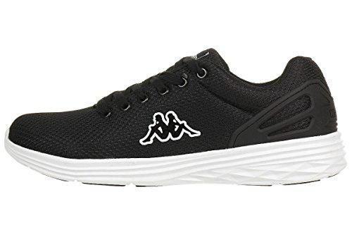 Kappa Trust Footwear Unisex, Sneaker Basse Unisex – Adulto Nero
