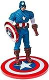 Marvel 76251 - Figura de coleccionista del Capitán América Moderno, Escala 1:12