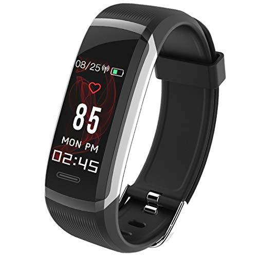 Scallop Unisex Fitness Tracker Armband Bluetooth Smartwatch mit Pulsuhr,Smart Gesundheit Aktivitätstracker - (mehr Informationen in Productbeschreibung)