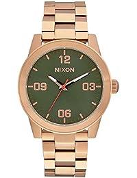 Nixon Damen-Armbanduhr Analog Quarz Edelstahl A9192283