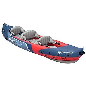 41RpnnjWHxL. SS300  - Sevylor Tahiti Plus 2+1 Man Canadian Canoe Inflatable Sea Kayak, 361 x 90 cm