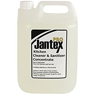 Jantex GM986 Pro Kitchen Cleaner and Sanitiser, 5 L