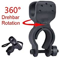Bike Cycle Bicycle Torch Mount HOLDER Adjustable Universal LIGHT BRACKET CLIP