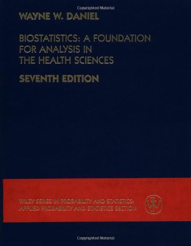 Biostatistics: A Foundation for Analysis in the Health Sciences