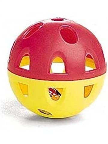 ethischen Jumbo Neon Ball mit Glocke Katze Spielzeug, 2–1/2Zoll