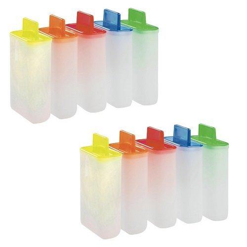 10 moldes de plástico para polos