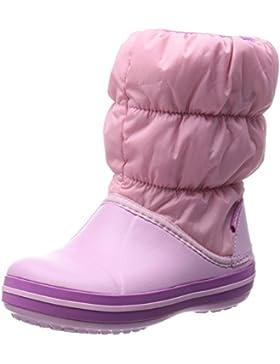 Crocs Winter Puff Boot Kids - Botas de material sintético infantil