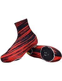 Cubrezapatillas Ciclismo Ciclismo Chanclas Impermeables, Ciclismo Cubiertas de Zapatos a Prueba de Viento Cálido Protector