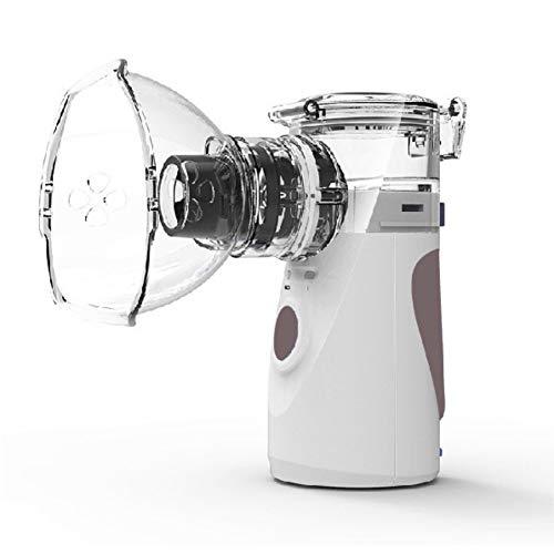 Allbestaye Inhalador eléctrico ultrasónico para el hogar Nebulizador de mano inhalador humidificador...