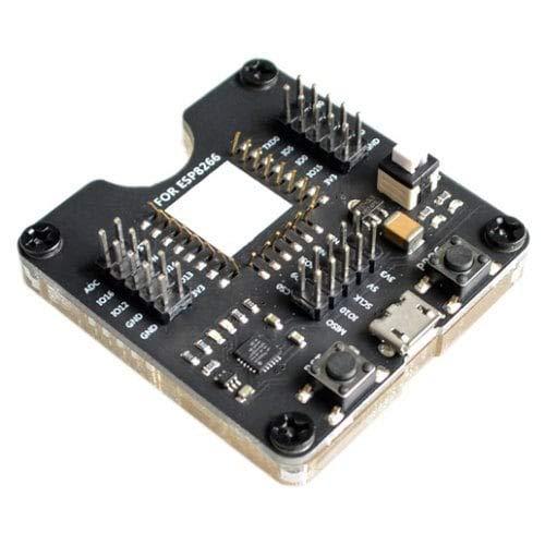 ExcLent Esp8266 Test Rack Burner One Key Download-Black