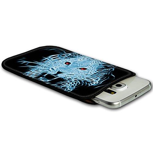 Sleeve Style Handy Tasche Case Schutz Hülle Schale Motiv Etui für Apple iPhone 6 / 6S - Sleeve UBS11 Design12 Design 2