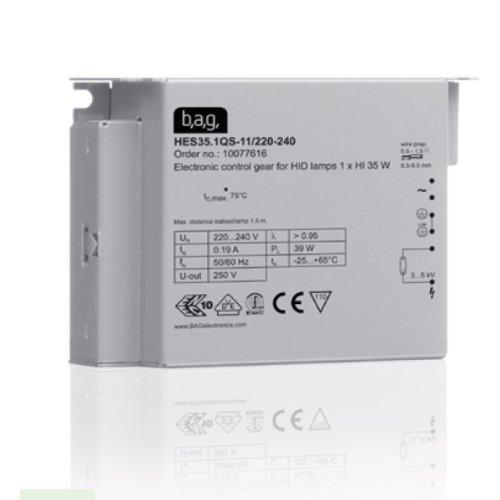 BAG EVG Vorschaltgerät für 70W Philips CDM /Osram HQI Lampen Stahl