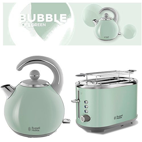 Frühstücksset/Serie Russell Hobbs Bubble Soft Green 2 Teile = Preis!!