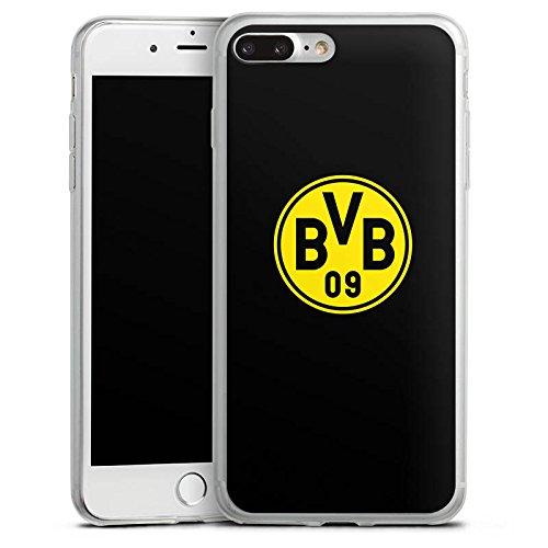 Apple iPhone X Slim Case Silikon Hülle Schutzhülle BVB Logo Borussia Dortmund Silikon Slim Case transparent