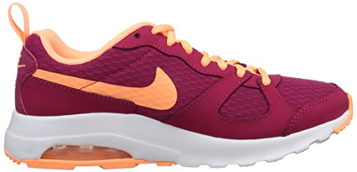 Nike Wmns Air Max Muse, Scarpe sportive, Donna Sport Fuchsia/Sunset Glow-Wht