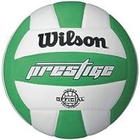 Wilson Prestige balón de voleibol, White/Green