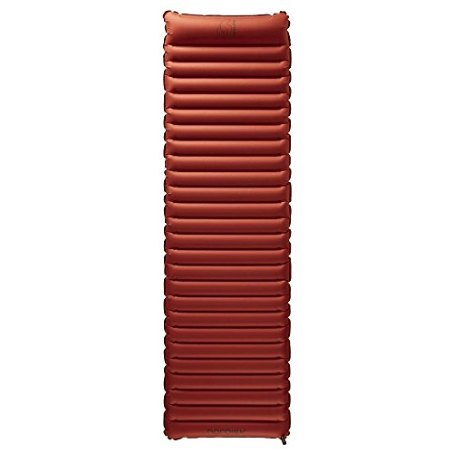 Nordisk Vega Air Mat Gymnastikmatte, Rot (Burnt Red), M