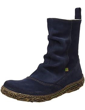 El Naturalista Damen N787 Lux Suede Nido Kurzschaft Stiefel