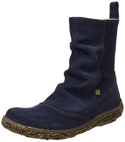 El Naturalista Damen N787 Lux Suede Nido Kurzschaft Stiefel, Blau (Profusion), 38 EU