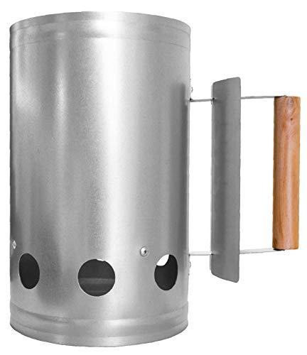 CampAir Chimenea de Encendido - XL Encendedor de Barbacoa de Carbon, con...