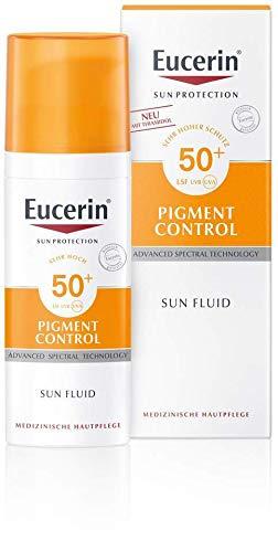 Eucerin Sun Fluid Pigment Control LSF 50+, 50 ml