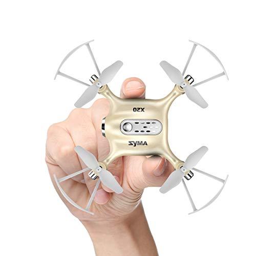 Syma Mini RC UFO Quadcopter DoDoeleph X20 2.4Ghz 6 Assi giroscopio Telecomando RTF Elicottero Nano Puntata Drone Modo Senza Testa con Hold Holding e Light One Key Togliere l\'atterraggio d\'oro