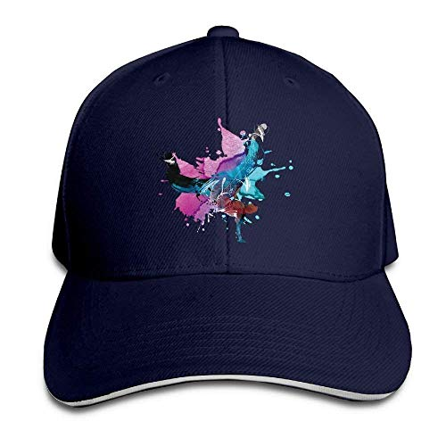 Kotdeqay Adjustable Hat Hiptop Baseball Cap Trucker Hat Hip Hop Classic Adjustable Cap OL4431