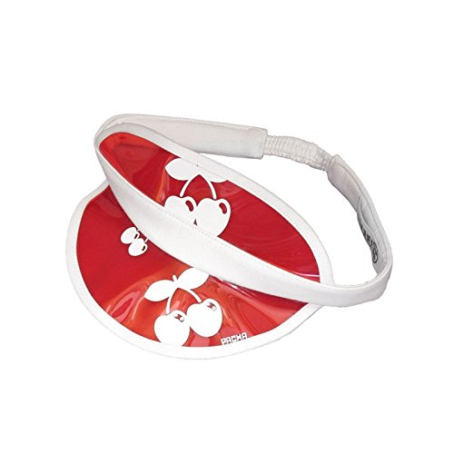 Pacha: Visière Teintée à Logo Cerises Rouge