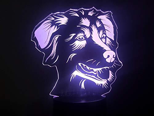 chäferhund, 3D-Lampe LED ()