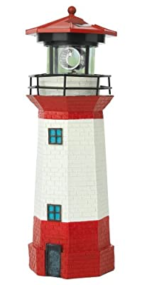 """TV Unser Original solarzauber Leuchtturm """"Strandlicht"""" mit LED-Leuchtfeuer 08617 von TV Unser Original bei Lampenhans.de"""