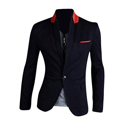 jeansian Herren Mode Jacke Oberbekleidung Tops 8981 Navy