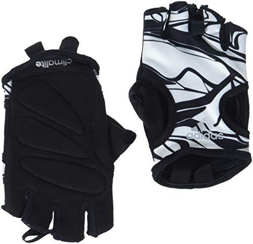 adidas Damen Climalite Graphic Handschuh, White/Black, M (Weiße Adidas Fußball Handschuhe)