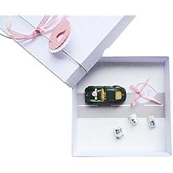 Geldgeschenk Verpackung für Hochzeit Auto rosa, Hochzeitsgeschenk, Geschenk Hochzeit