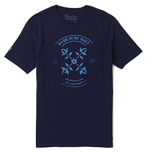 Oxbow J2 Taynur, T-Shirt Uomo Marine