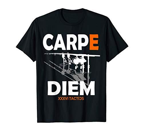 Carpe Diem - Karpfen Angeln RodPod T-Shirt Carp